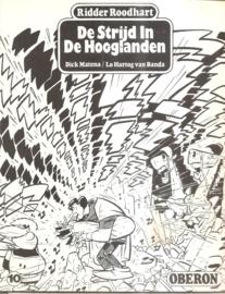 Oberon Zwart Wit Reeks 10: De Strijd in de Hooglanden