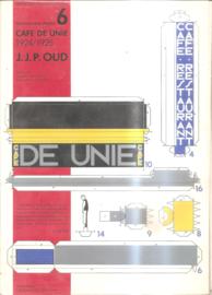 Architectural Models nr. 6: Café de Unie