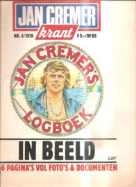 Cremer, Jan: Jan Cremer Krant 4; 1978