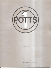 "Catalogus Stedelijk Museum 633: ""Don Potts'"