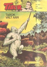 Tibor no. 21: Tarok valt aan