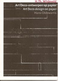 """Wijdeveld, H. Th.: """"Art Deco-ontwerpen op papier""""."""