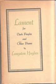 Hughes, Langston: Lament for Dark  Peoples and Other Poems (genummerd)