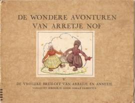 Arretje Nof  deel V (Serie Johan Fabricius)