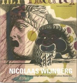 """Wijnberg, Nicolaas: """"De eigenzinnige theateraffiches van een tomeloos theaterdier""""."""
