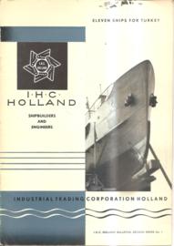 I.H.C. Holland Bulletin ( jaren '50); 8 exemplaren