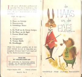 Roggeveen, Leonard: De Haas en de Egel