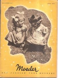 Moeder: het vakblad voor moeders; juli 1947