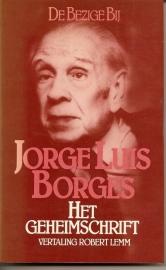 """Borges, Jorge Luis: """"Het geheimschrift""""."""