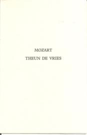 """Vries, Theun de: """"Mozart""""."""