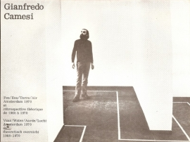 Catalogus Stedelijk Museum 496: Gianfredo Camesi