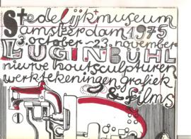 Catalogus stedelijk Museum 581 (?): Lugin Bühl (vouwblad)