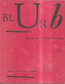 Blurb een tot en met negen
