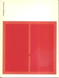 Catalogus Stedelijk Museum 616: Antonio Calderara