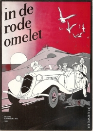 Omelet, in de rode -
