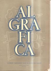 Algrafica eerste jaargang nr. 1