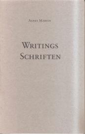 Martin, Agnes: Writings / Schriften