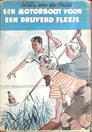 """Heide, Wily van der: """"Een motorboot voor een drijvend flesje"""""""