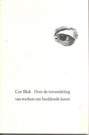 """Blok, C.: """"Over de veroordeling van werken van beeldende kunst""""."""