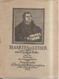 Hulst, W.G. van de: Maarten Luther
