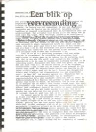 Wallroth, Tanja: Een blik op vervreemding (2 delen)