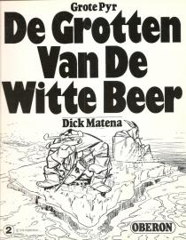 """Oberon Zwartwit Reeks 02: """"De grotten van de witte beer""""."""