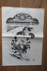 Witte Krant Papieren Tijger