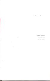 Vroman, Leo: Erik K. de Vries