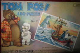 Tom Poes Legpuzzle 2: Het Zeemonster