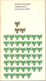 Best verzorgde boeken, de 1967