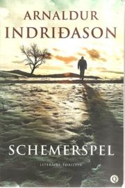 "Indridason, Arnaldur: ""Schemerspel""."