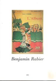 Rabier, Benjamin (over -): catalogus