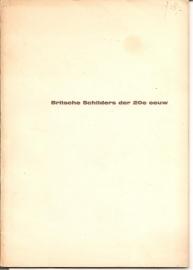 Catalogus Stedelijk Museum, zonder nummer: Britsche Schilders der 20e eeuw.