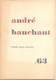 Catalogus Stedelijk Museum 063: André Bachant.