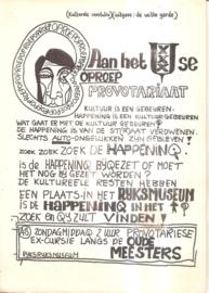 Provokatie: Oproep aan het Amsterdamse Provotariaat 9gereserveerd0