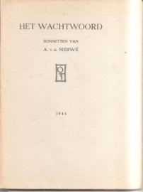Merwe, A. v.d.: Het wachtwoord