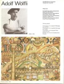 Catalogus Stedelijk Museum 618: Adolf Wölfli (gereserveerd)