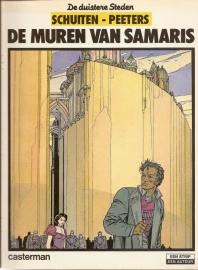 """De Duistere Steden: """"De muren van Samaris"""".  *"""