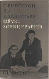 Buddingh', C. en Schippers, K.: 128 vel schrijfpapier