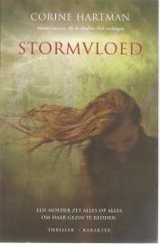 """Hartman, Corine: """"Stormvloed"""". (gesigneerd)"""