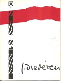 """Catalogus Stedelijk Museum 611: """"Jef Diederen""""."""