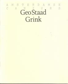 """Drs. P (onder de naam Geo Staad): """"Grink""""."""