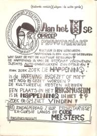 Oproep aan het Amsterdamse Provotariaat