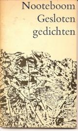 """Nooteboom, Cees: """"Gesloten gedichten""""."""
