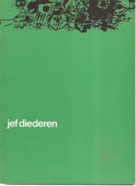 Catalogus Stedelijk Museum 334: Jef Diederen.