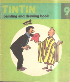 Kuifje: Tintin painting and drawing boook 09