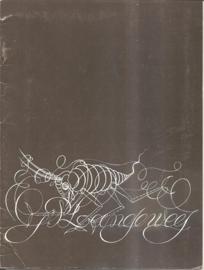 """Catalogus Stedelijk Museum 553: """"Ger Langeweg"""" (gereserveerd)"""
