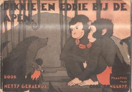 Geraerds, Netty: Dikkie en Edddie bij de apen