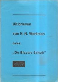 """Werkman, H.N.: """"Uit brieven van H.N. Werkman over De Blauwe Schuit"""""""