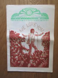 Witte Krant / Papieren Tijger 7 (cover met groen)